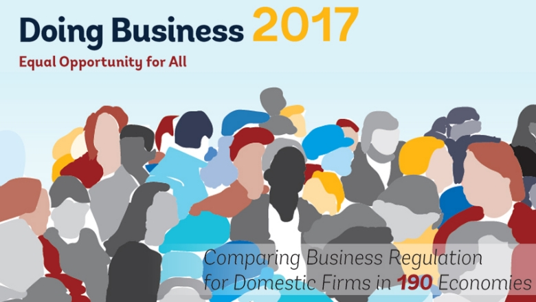 Image result for doing business report 2017